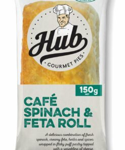 Goodtime HUB Cafe Spinach & Feta Roll