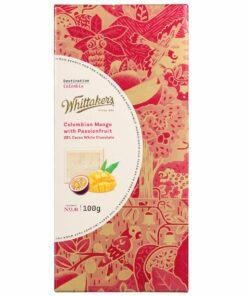 Whittakers Chocolate Block White Choc Mango Passionfruit