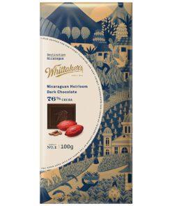 Whittakers Chocolate Block Nicaraguan Dark Choc