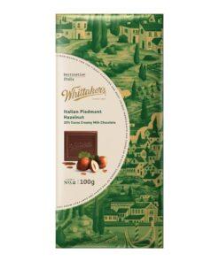 Whittakers Destination Italian Piedmont Hazelnut
