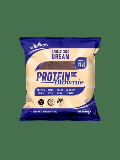 Justine's Protein Cookie - Double Choc Dream Protein Brownie