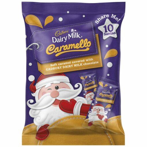 Cadbury Chocolates Caramello Santas