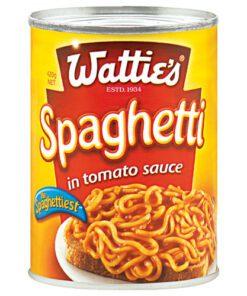 Watties Spaghetti In Tomato Sauce