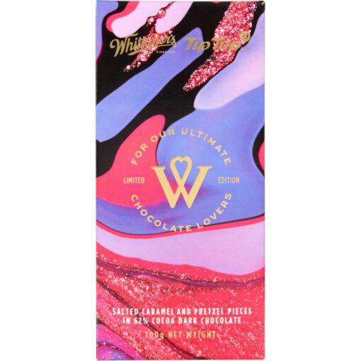 Whittakers Tip Top Chocolate Block Dark Choc Caramel Pretzel