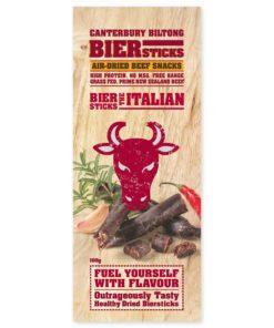 Canterbury Biltong (Jerky) Italian Biersticks (4 pack)