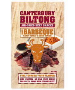 Canterbury Biltong (Jerky) - Smokey BBQ Flavour