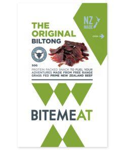 Canterbury Biltong (Jerky) Original Bite Meat