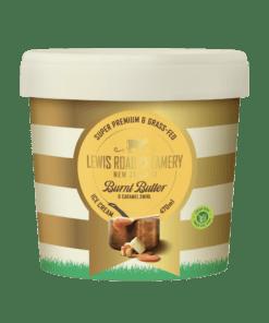 Lewis Road Creamery Burnt Butter & Caramel Ice Cream 470ml