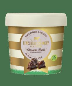 Lewis Road Creamery Chocolate Truffle with Ganache Ice Cream 470ml