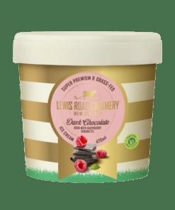 Lewis Road Creamery Chocolate Noir with Raspberries Ice Cream 470ml