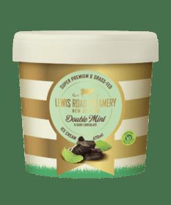 Lewis Road Creamery Double Mint & Dark Chocolate Ice Cream 470ml
