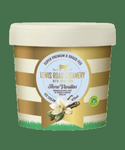 Lewis Road Creamery Three Vanilla Ice Cream
