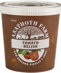Anathoth Farm Tomato Relish 390g