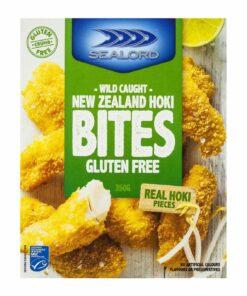Sealord Gluten Free Hoki Fish Bites 350g