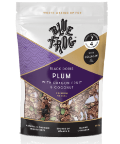 Blue Frog Black Doris Plum with Dragon Fruit & Coconut - with added Collagen 350g