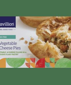 Pavillion Gluten Free Vegetable & Cheese Pies 2 x 180g pk