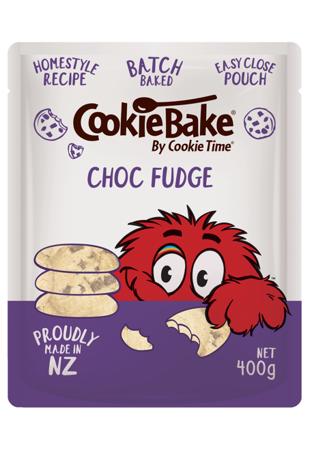 Cookie Time CookieBake Choc Fudge 400g