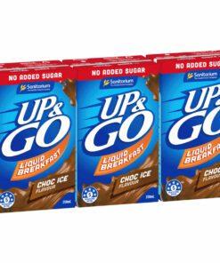 Sanitarium Up & Go Breakfast Drink Chocolate No Added Sugar