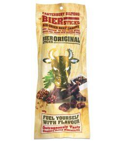 Canterbury Biltong (Jerky) Original Biersticks (4 pack) 100g