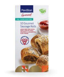 Pavillion Gluten Free Sausage Rolls 10pk 400g