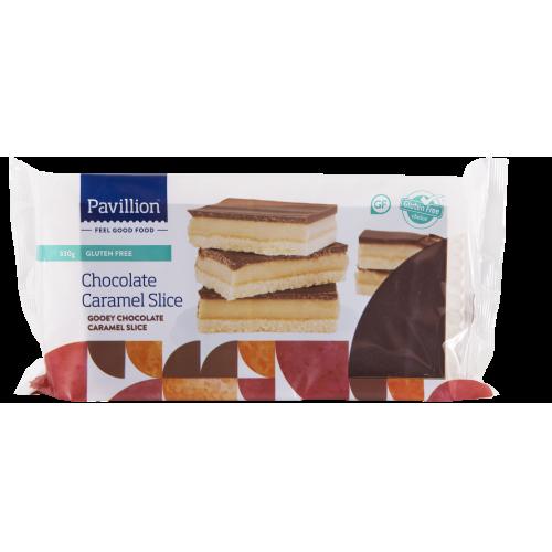 Pavillion Gluten Free Choc Caramel Slice 330g