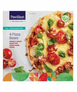 Pavillion Gluten Free Pizza Bases 4x19cm Pack