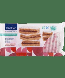 Pavillion Gluten Free Belgium Slice 330g