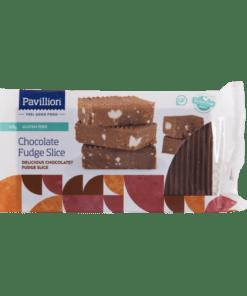 Pavillion Gluten Free Chocolate Fudge Slice 330g