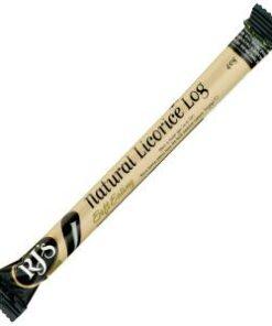 Rjs Licorice Natural Soft Eating Log 40g