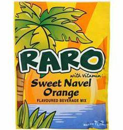 Sweet Navel Orange Raro Sachet 80g