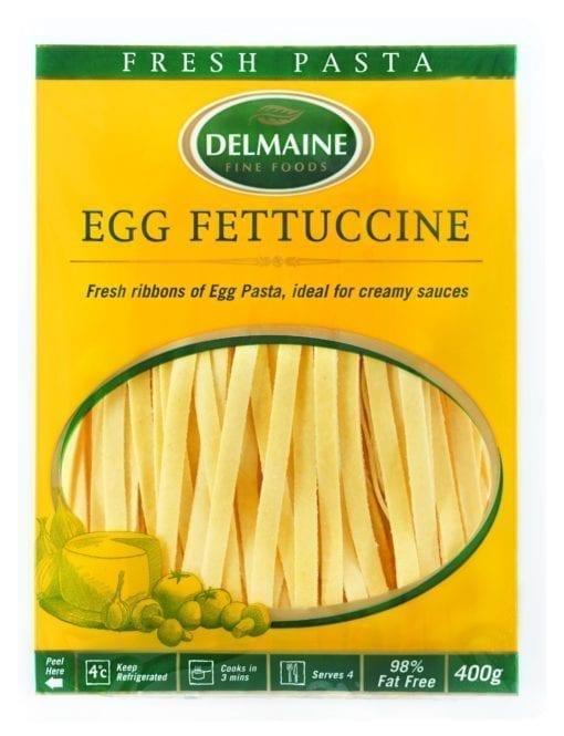 Durum Wheat Semolina, Water, Egg (8%), Salt.