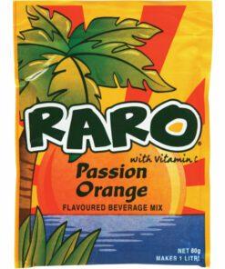 Raro Sachet Passion Orange 80g