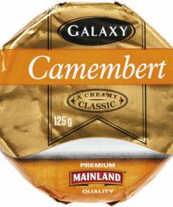Galaxy Soft White Cheese Camembert Wheel 125g