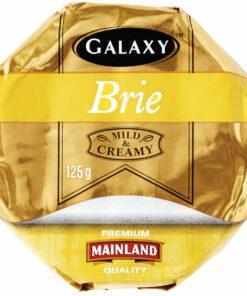 Galaxy Soft White Cheese Brie Wheel 125g