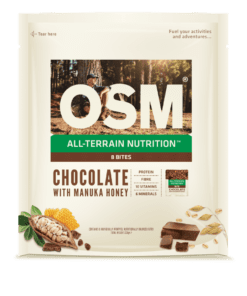 Cookie Time One Square Meal (OSM) Chocolate With Manuka Honey 8 Bite Pack