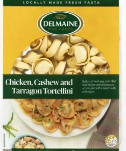 Delmaine Chicken, Cashew & Tarragon Tortellini 300g