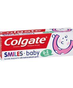 Colgate Smiles Toothpaste Baby 0-2 Anticavity