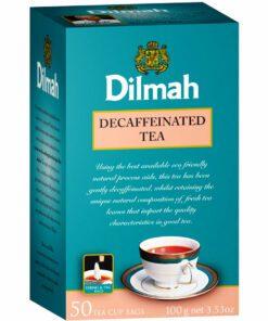 Dilmah Decaffeinated Tea Bags Premium 100G