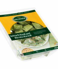 Delmaine Chilled Filled Pasta Spinach, Basil Ricotta Ravioli