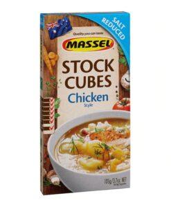 Massel Ultra Chicken Stock Cubes Salt Reduced