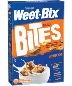Sanitarium Weetbix Bites Wheat Biscuits Apricot