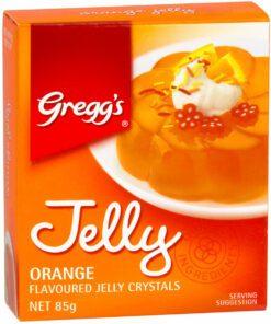 Greggs Jelly Crystals Orange Flavoured 85g