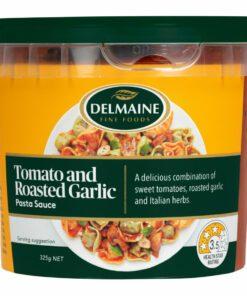 Delmaine Chilled Pasta Sauce Tomato & Roasted Garlic
