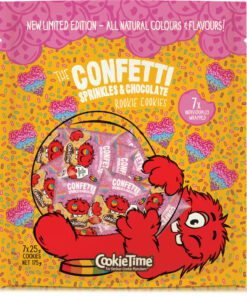 Cookie Time Confetti Sprinkles & Chocolates Limited Edition 7pk175g