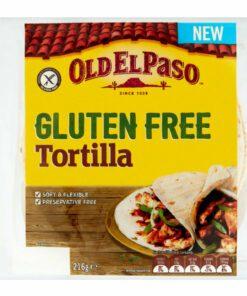 Old El Paso Gluten Free Mexican Tortillas 216G
