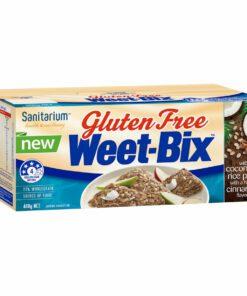 Sanitarium weetbix wheat biscuits cinnamon & coconut gluten free 400g
