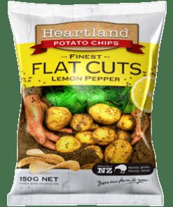 Heartland flat cut lemon pepper