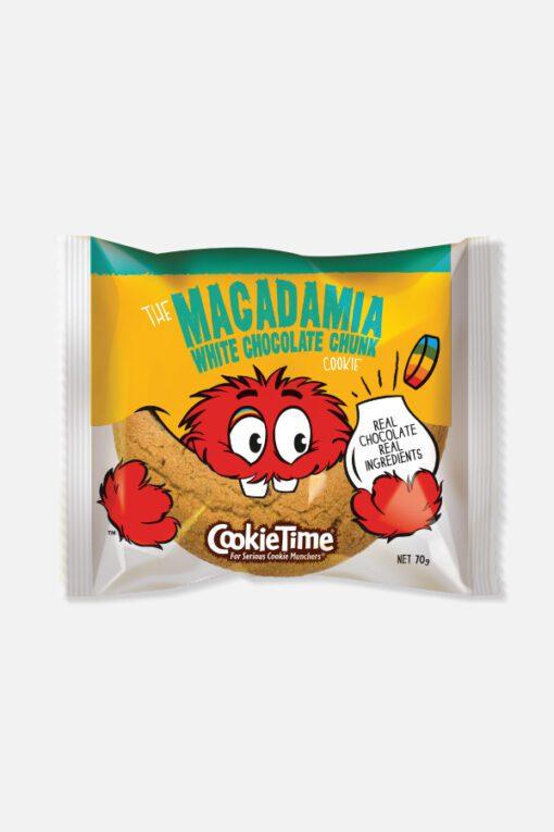 Cookie Time Macadamia White Chocolate Chunk 85G