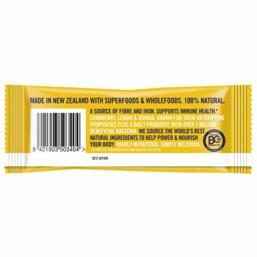 Health Discovery Vitality Bar - Cranberry & Lemon with Quinoa 40g