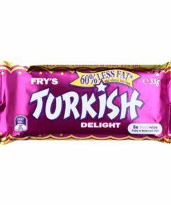 Cadbury Frys Chocolate Bar Turkish Delight 55G